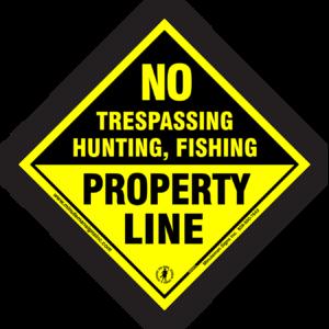 no-trespassing-hunting-fishing-property-line-606PL-1