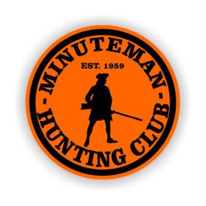 Minuteman-Hunt-Club-decal-orange